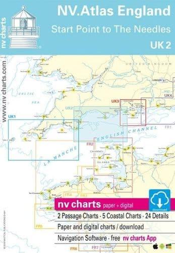 UK2: NV Atlas England - Start Point To The Needles